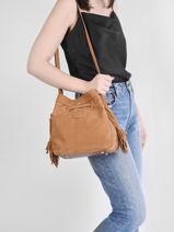 Shoulder Bag Tornade Leather Etrier Brown tornade ETOR17-vue-porte