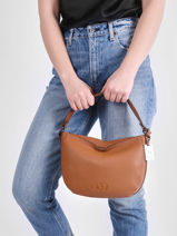 Top Handle Ecuyer Leather Etrier Brown ecuyer EECU06-vue-porte