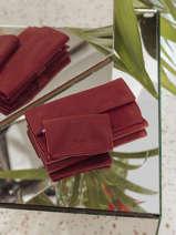 Leather Wallet Etincelle Nubuck Etrier Red etincelle nubuck EETN903