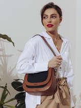 Shoulder Bag Deauville Etrier Black deauville EDEA01