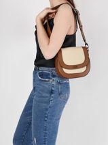 Shoulder Bag Deauville Etrier White deauville EDEA02-vue-porte