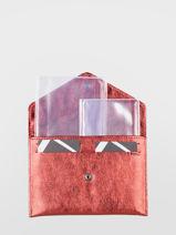 Porte-papiers Etincelle Cuir Etrier Rouge etincelle irisee EETI054-vue-porte