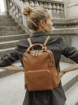 Backpack Etrier Brown tradition EHER37