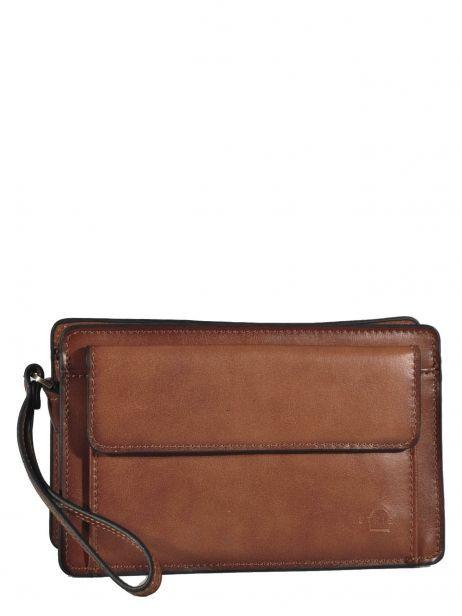 Messenger Bag 2 Compartments Etrier Brown 63011
