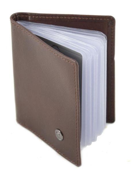 Card Holder Leather Etrier Brown dakar 200021 other view 3
