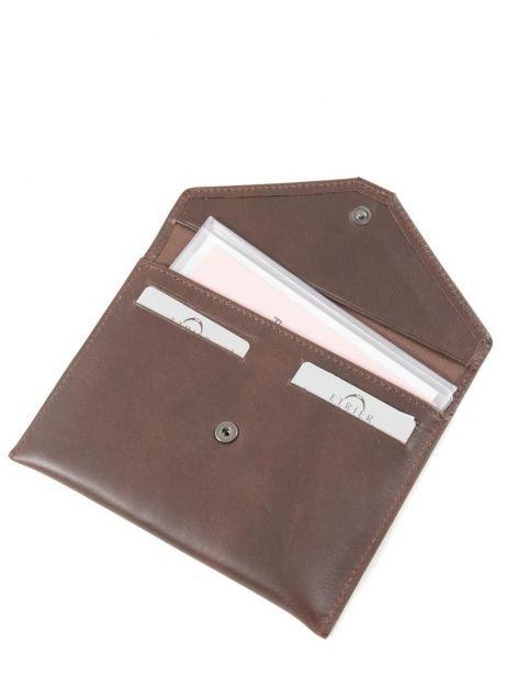 Wallet Leather Etrier Brown dakar 200054 other view 3