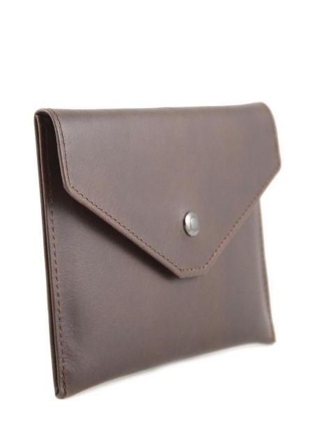 Wallet Leather Etrier Brown dakar 200054 other view 1