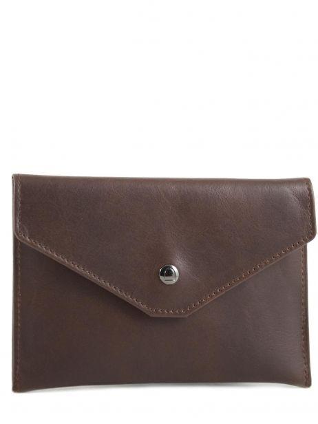 Wallet Leather Etrier Brown dakar 200054