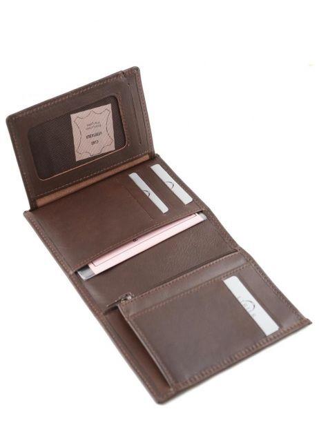 Wallet Leather Etrier Brown dakar 200142 other view 4