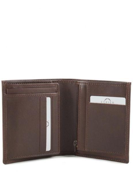 Wallet Leather Etrier Brown dakar 200142 other view 3