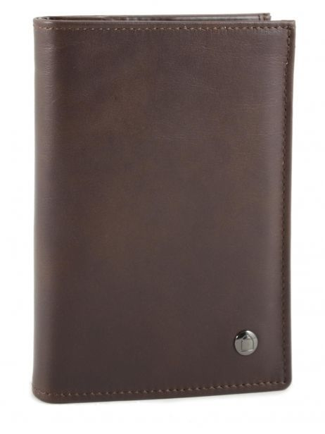Wallet Leather Etrier Brown dakar 200325