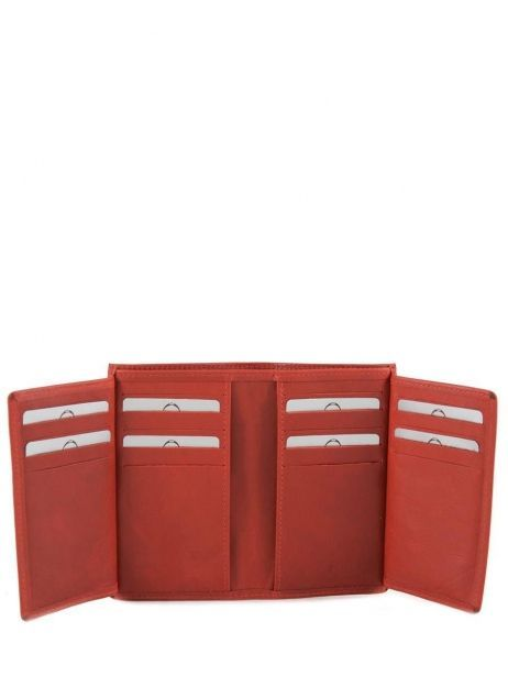 Card Holder Leather Etrier Red dakar 200006 other view 4