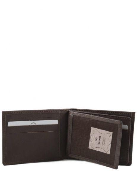 Card Holder Leather Etrier Brown dakar 200139 other view 3