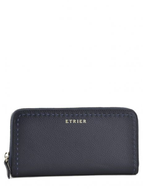 Leather Tradition Wallet Etrier Blue tradition EHER901