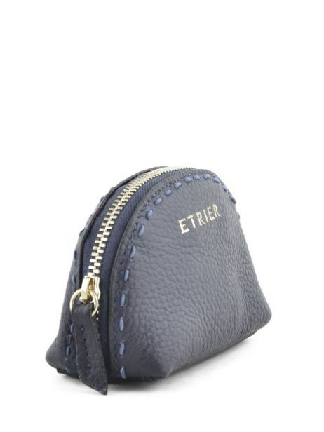 Purse Leather Etrier Black tradition EHER902 other view 1