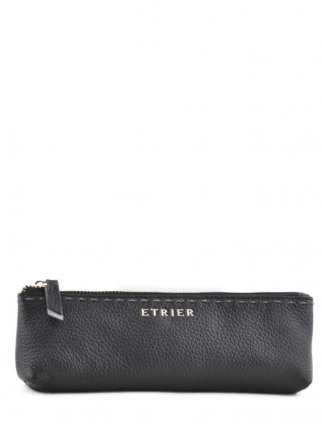 Case Leather Etrier Black tradition EHER903