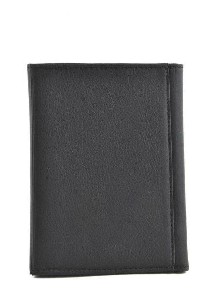 Porte-papiers Cuir Etrier Noir blanco 600024 vue secondaire 2