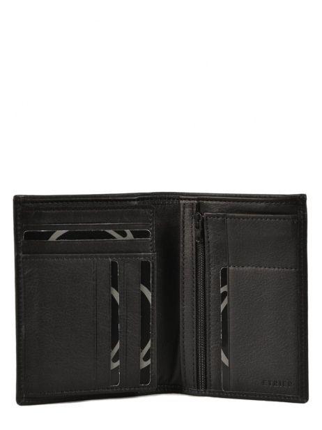 Wallet Leather Etrier Black dakar 200271 other view 1