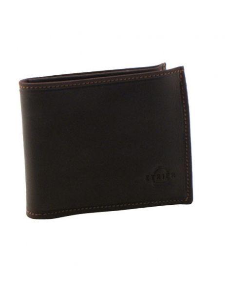 Wallet Leather Etrier Brown oil - 00790102