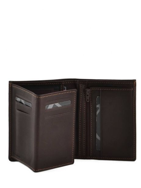 Wallet Leather Etrier Brown oil 790241 other view 3