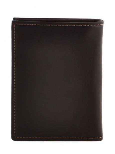 Wallet Leather Etrier Brown oil 790241 other view 2