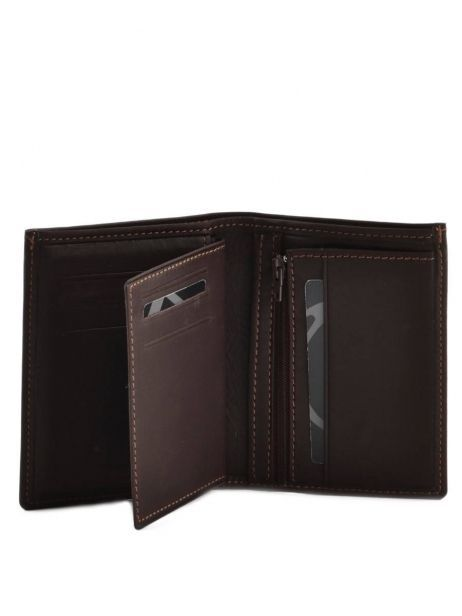 Wallet Leather Etrier Brown oil 790247 other view 3