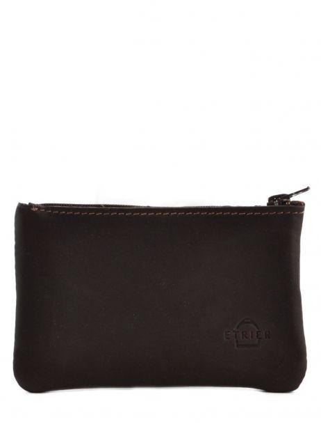 Key Holder Leather Etrier Brown oil 790612