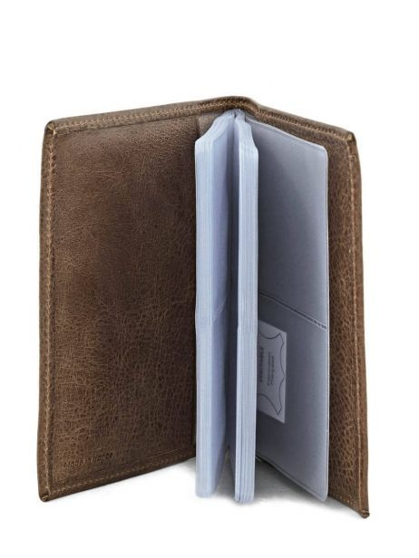 Card Holder Leather Etrier Brown antik 708023 other view 3