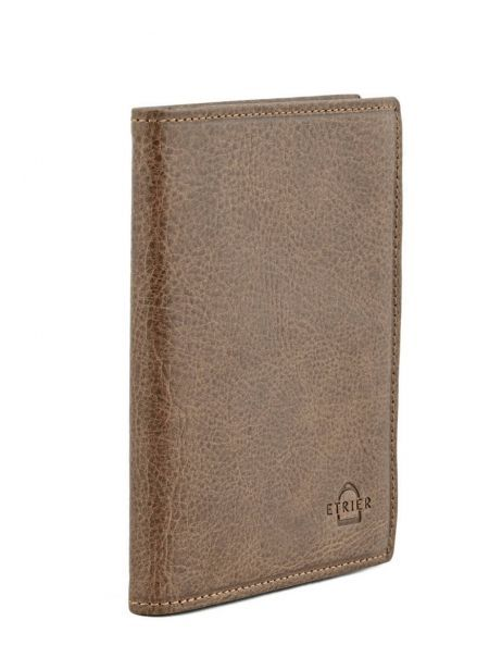 Card Holder Leather Etrier Brown antik 708023 other view 1