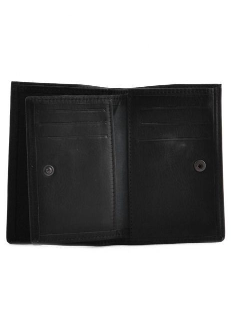 Wallet Leather Etrier Black oil - 00790027 other view 3