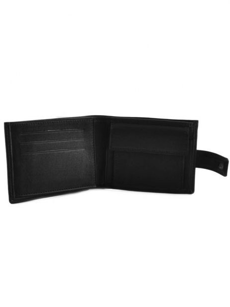Wallet Leather Etrier Black oil 790120 other view 3