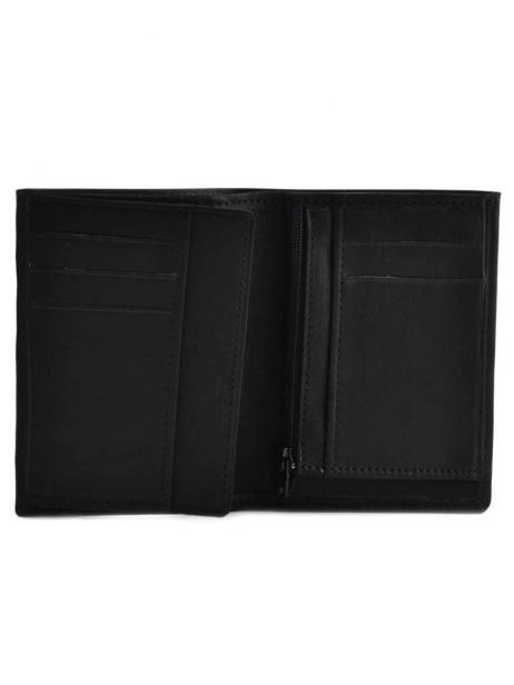 Wallet Leather Etrier Black oil 790140 other view 3