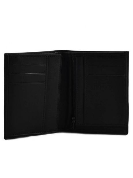 Wallet Leather Etrier Black oil 790143 other view 3