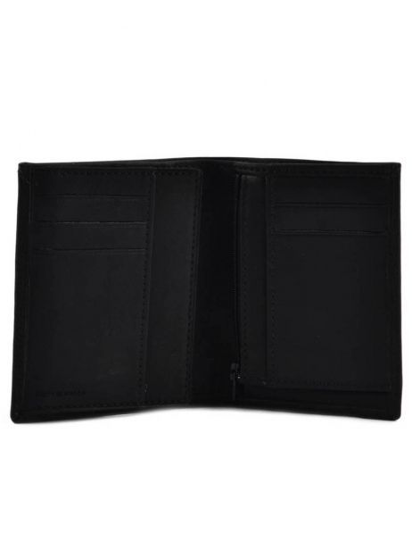 Wallet Leather Etrier Black oil 790145 other view 3