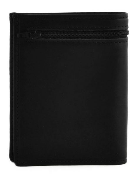 Wallet Leather Etrier Black oil 790145 other view 2