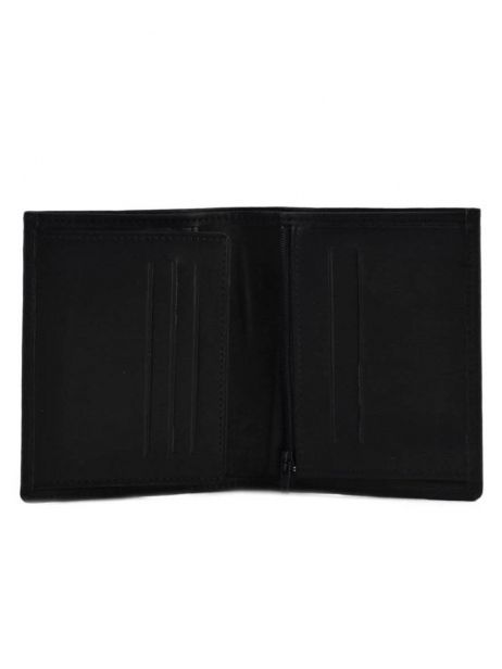 Wallet Leather Etrier Black oil 790624 other view 3