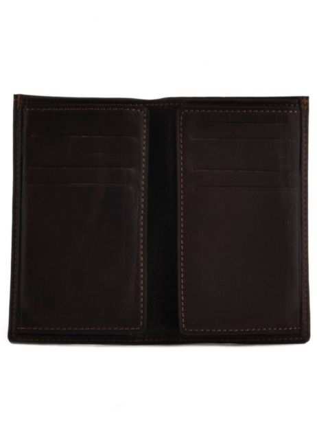 Card Holder Leather Etrier Brown oil 790006 other view 3