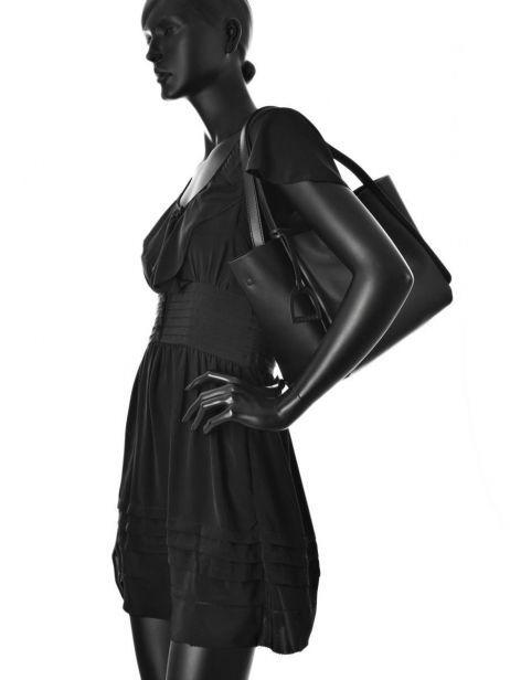Shoulder Bag Kyo Leather Etrier Black kyo EKY602 other view 3