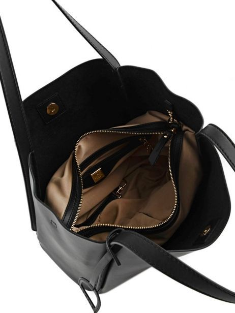 Shoulder Bag Kyo Leather Etrier Black kyo EKY602 other view 7