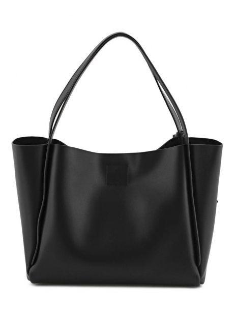 Shoulder Bag Kyo Leather Etrier Black kyo EKY602 other view 6
