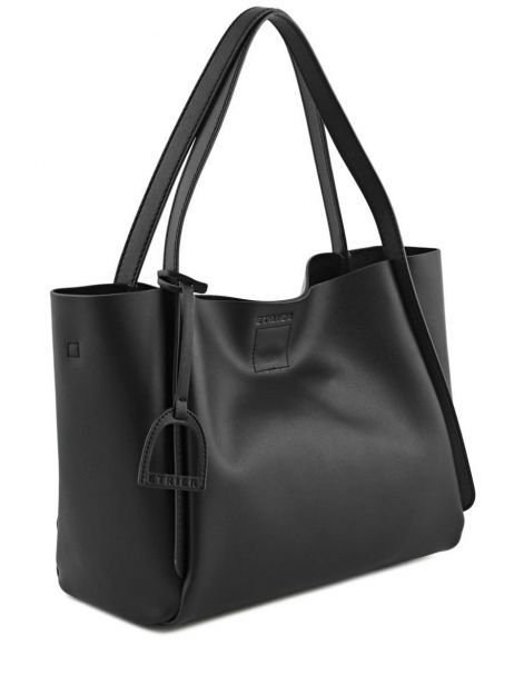 Shoulder Bag Kyo Leather Etrier Black kyo EKY602 other view 5