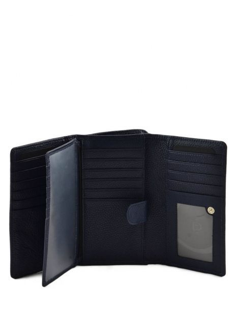 Wallet Leather Etrier Blue tradition EHER905 other view 4