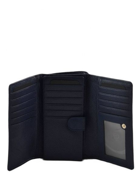 Wallet Leather Etrier Blue tradition EHER905 other view 3