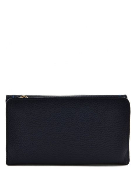 Wallet Leather Etrier Blue tradition EHER905 other view 2