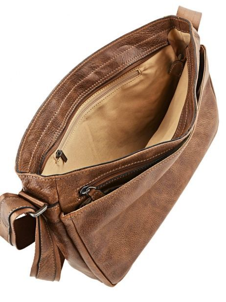 Messenger Bag 1 Compartment Etrier Brown spider S83606 other view 6