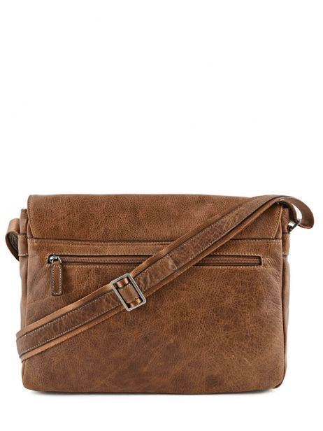 Messenger Bag 1 Compartment Etrier Brown spider S83606 other view 5