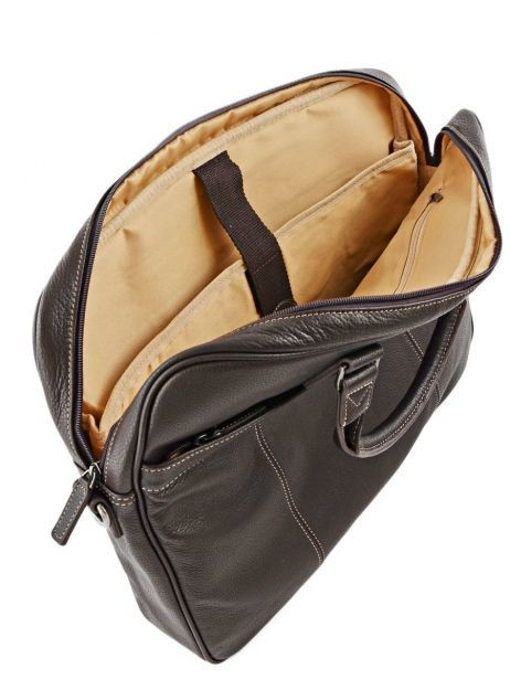 Briefcase 1 Compartment + 17'' Pc Etrier Brown flandres 69356 other view 6