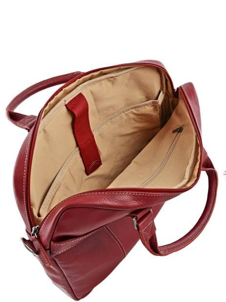 Briefcase 1 Compartment + 15'' Pc Etrier Red flandres 69357 other view 6