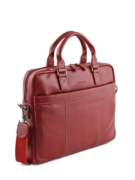 Briefcase 1 Compartment + 15'' Pc Etrier Red flandres 69357 other view 4
