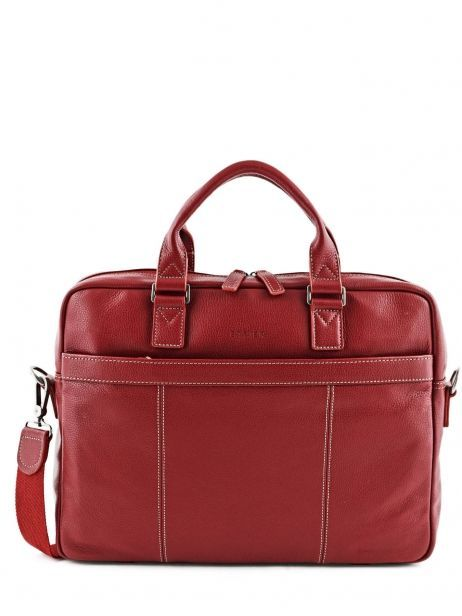 Briefcase 1 Compartment + 15'' Pc Etrier Red flandres 69357